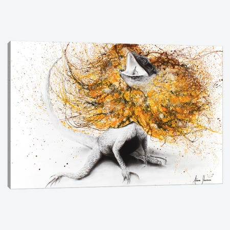 Frilled Canvas Print #VIN34} by Ashvin Harrison Canvas Print
