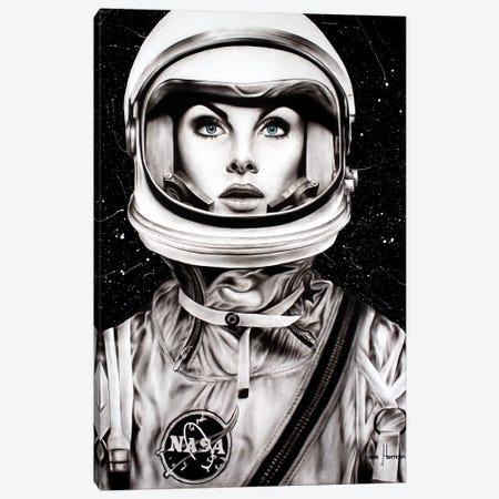 Her Universe Canvas Print #VIN351} by Ashvin Harrison Art Print