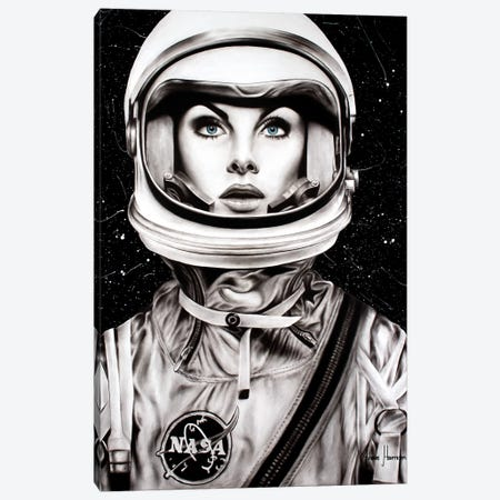 Her Universe Canvas Print #VIN351} by Ashvin Harrison Art Print