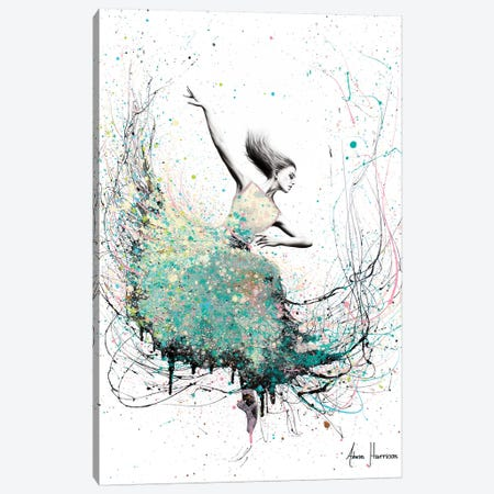 Opal Oasis Dance Canvas Print #VIN358} by Ashvin Harrison Canvas Print