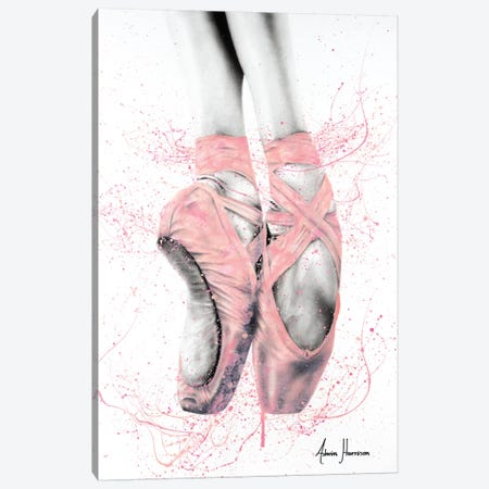 Pretty Pointe Canvas Print #VIN360} by Ashvin Harrison Canvas Wall Art