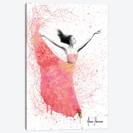 Rose Petal Dance Canvas Print #VIN364} by Ashvin Harrison Canvas Art Print