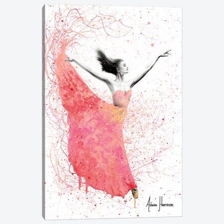 Rose Petal Dance Canvas Print #VIN364} by Ashvin Harrison Canvas Art Print