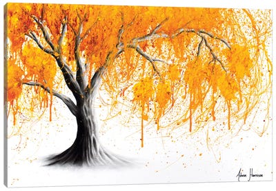 Rusting Desert Tree Canvas Art Print