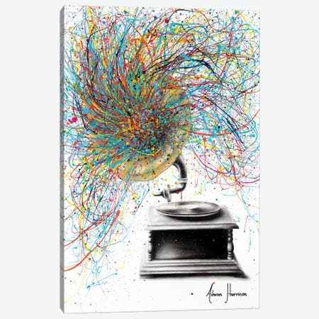 Sight Of Sound Canvas Print #VIN366} by Ashvin Harrison Canvas Print
