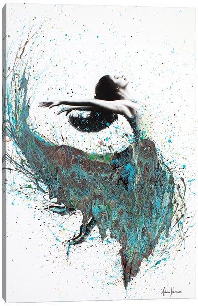 Geology Dance Canvas Art Print
