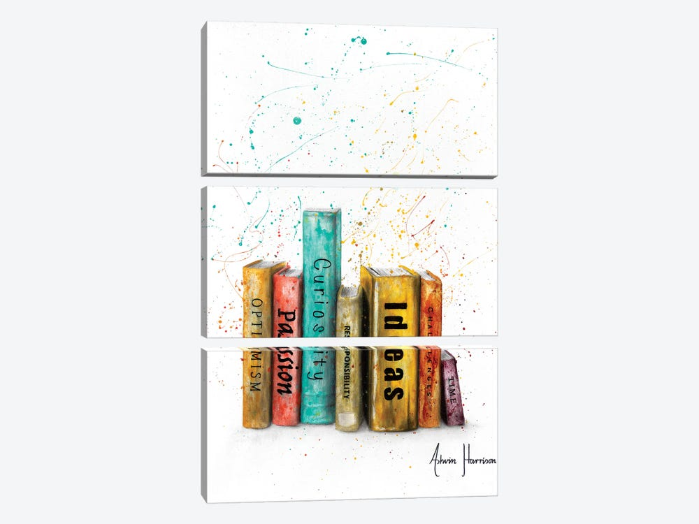 To Be Of One by Ashvin Harrison 3-piece Canvas Art Print