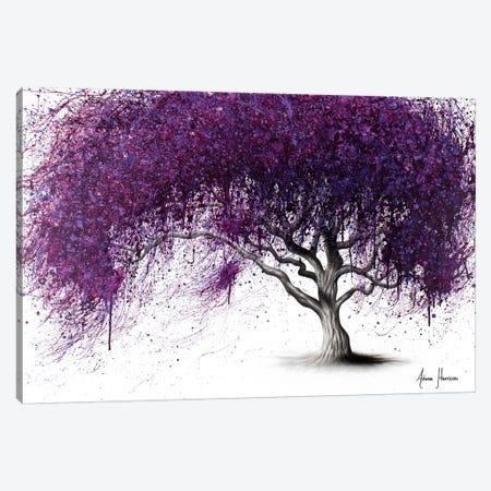 Violet Shadows Canvas Print #VIN377} by Ashvin Harrison Canvas Wall Art