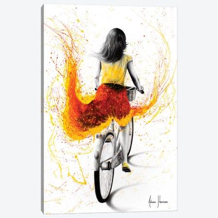 Her Passion Canvas Print #VIN386} by Ashvin Harrison Canvas Art Print