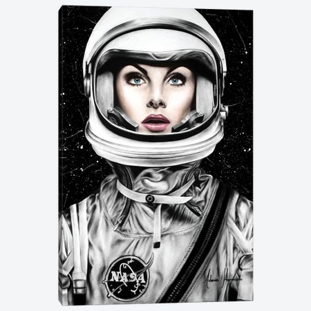 Her Universe Canvas Print #VIN387} by Ashvin Harrison Art Print