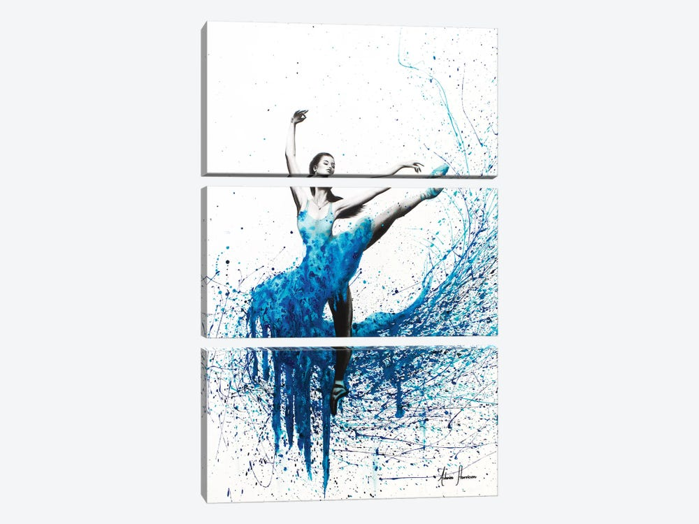 Guardian Of The Sea by Ashvin Harrison 3-piece Canvas Wall Art