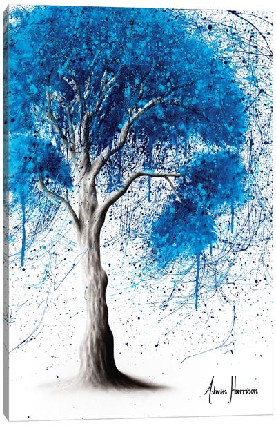 Ocean Sound Tree Canvas Art Print