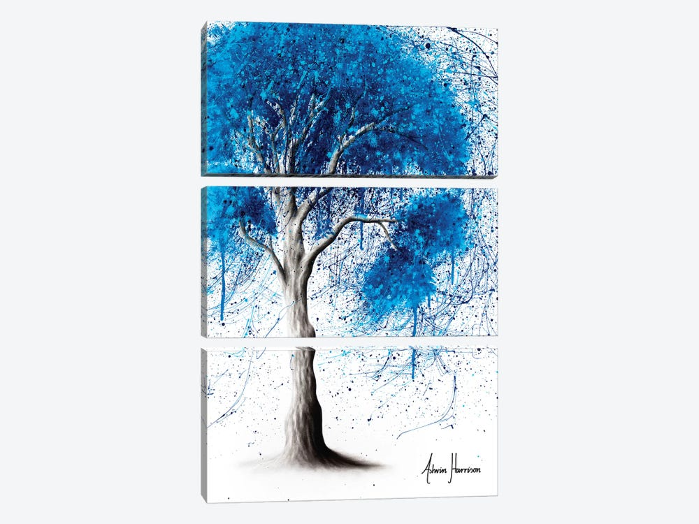 Ocean Sound Tree by Ashvin Harrison 3-piece Canvas Art