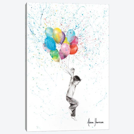 Today Will Be The Day Canvas Print #VIN396} by Ashvin Harrison Canvas Artwork