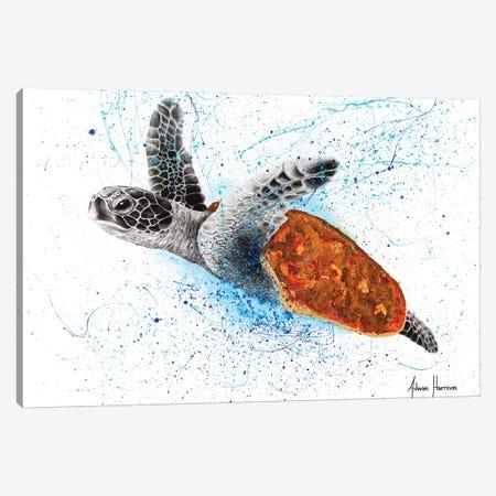 Opulent Ocean Turtle Canvas Print #VIN398} by Ashvin Harrison Canvas Print