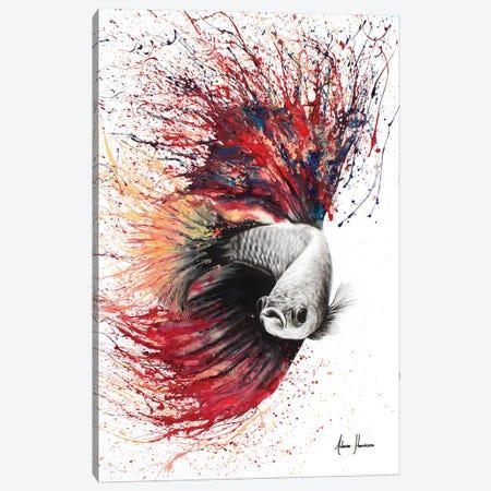 Heart Of Flames Canvas Print #VIN39} by Ashvin Harrison Canvas Wall Art