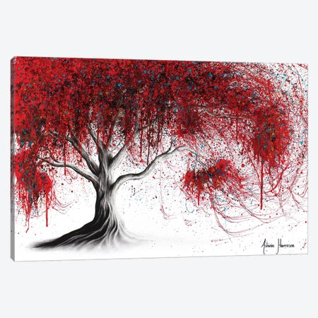 Scarlet Picnic Dream Tree Canvas Print #VIN409} by Ashvin Harrison Canvas Print