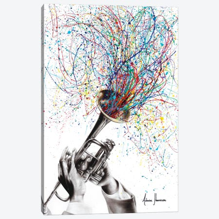 Soul of Sound Canvas Print #VIN410} by Ashvin Harrison Canvas Wall Art