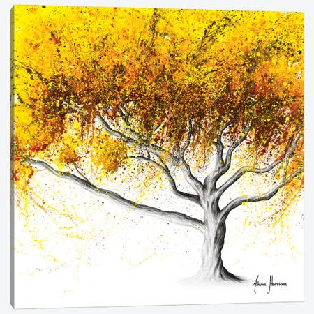 Sunflower Fire Tree Canvas Print #VIN416} by Ashvin Harrison Canvas Print