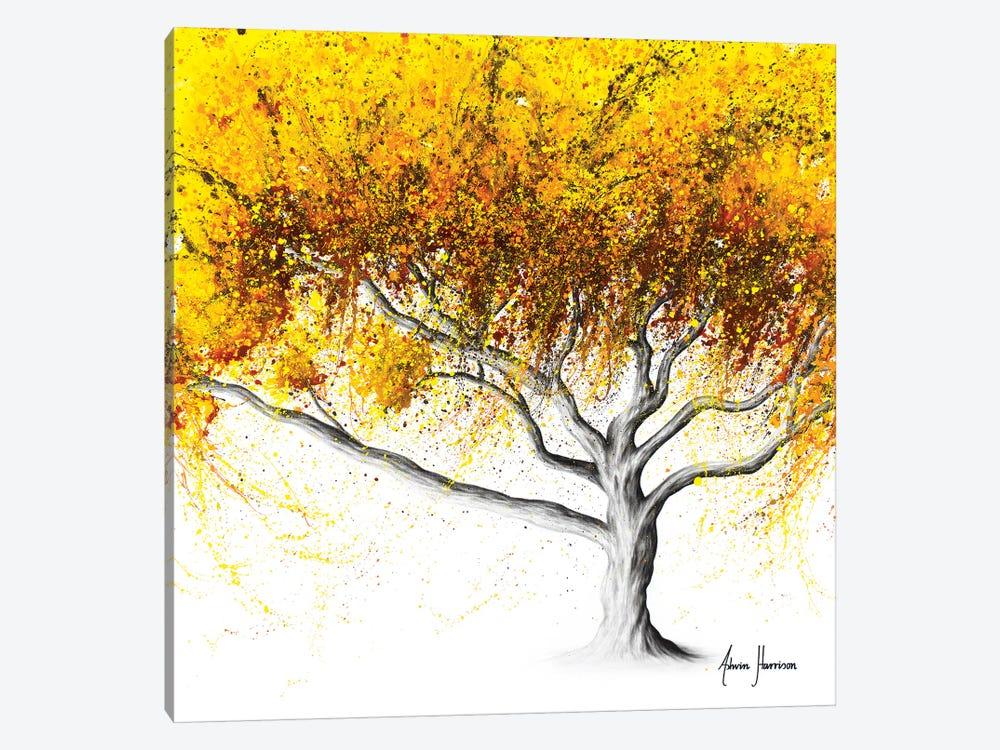 Sunflower Fire Tree by Ashvin Harrison 1-piece Canvas Art