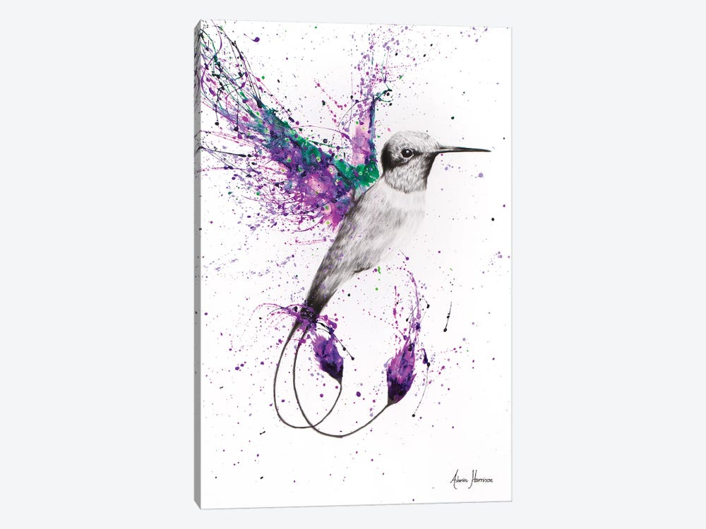Humming Home by Ashvin Harrison 1-piece Canvas Wall Art