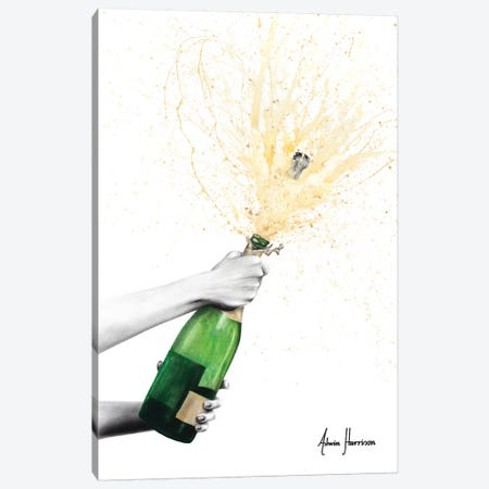 Champagne Celebration 3-Piece Canvas #VIN420} by Ashvin Harrison Art Print