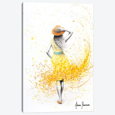 Where She Finds Canvas Print #VIN430} by Ashvin Harrison Canvas Wall Art