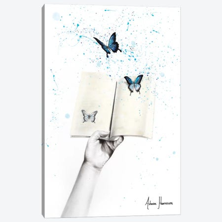 A Sense Of Butterfly Fiction Canvas Print #VIN432} by Ashvin Harrison Canvas Wall Art