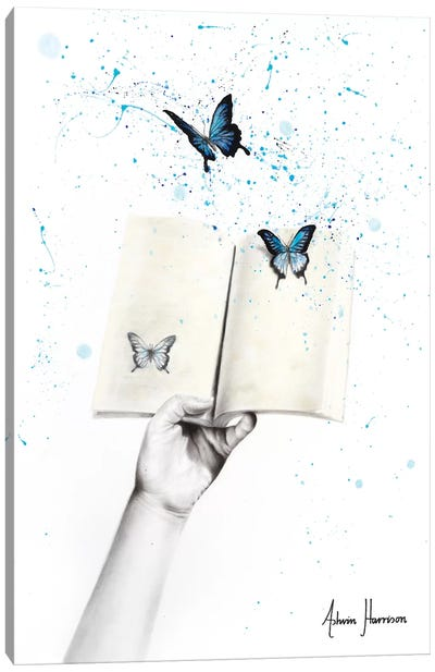 A Sense Of Butterfly Fiction Canvas Art Print