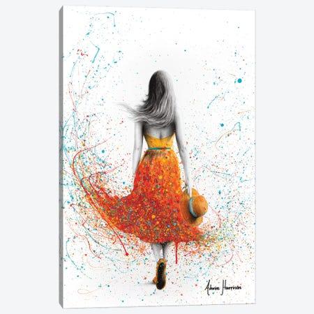 Her Sunset Walk Canvas Print #VIN435} by Ashvin Harrison Canvas Art Print