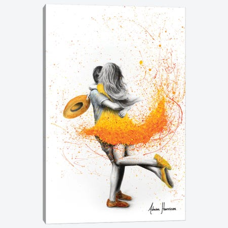 Sunday Together Canvas Print #VIN438} by Ashvin Harrison Canvas Artwork