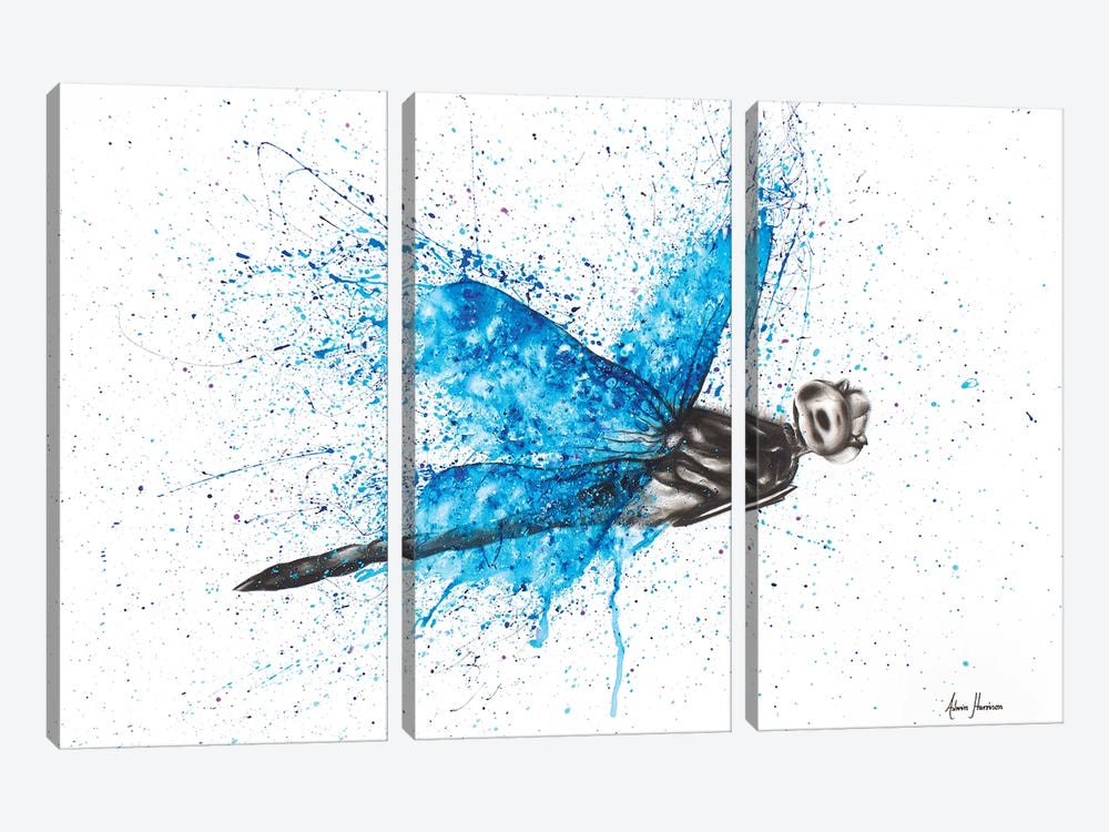 I Came Back To Say Hi by Ashvin Harrison 3-piece Canvas Artwork