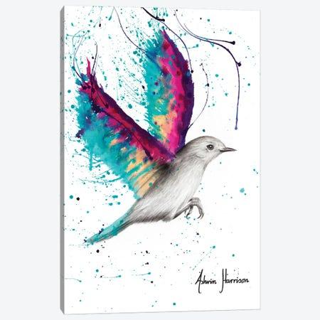 Sunset Sea Wings Canvas Print #VIN445} by Ashvin Harrison Canvas Art