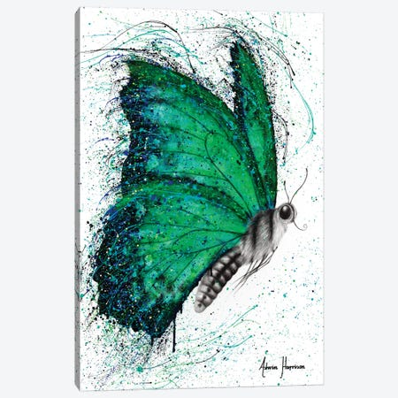 Emerald City Butterfly Canvas Print #VIN447} by Ashvin Harrison Canvas Art
