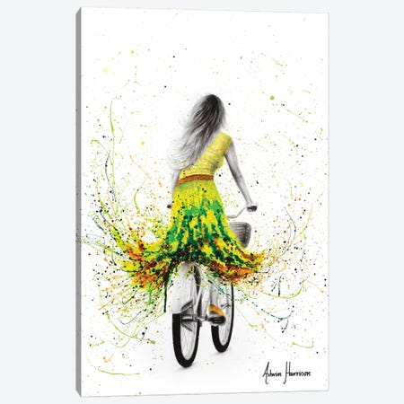 Spring River Rider Canvas Print #VIN448} by Ashvin Harrison Canvas Print