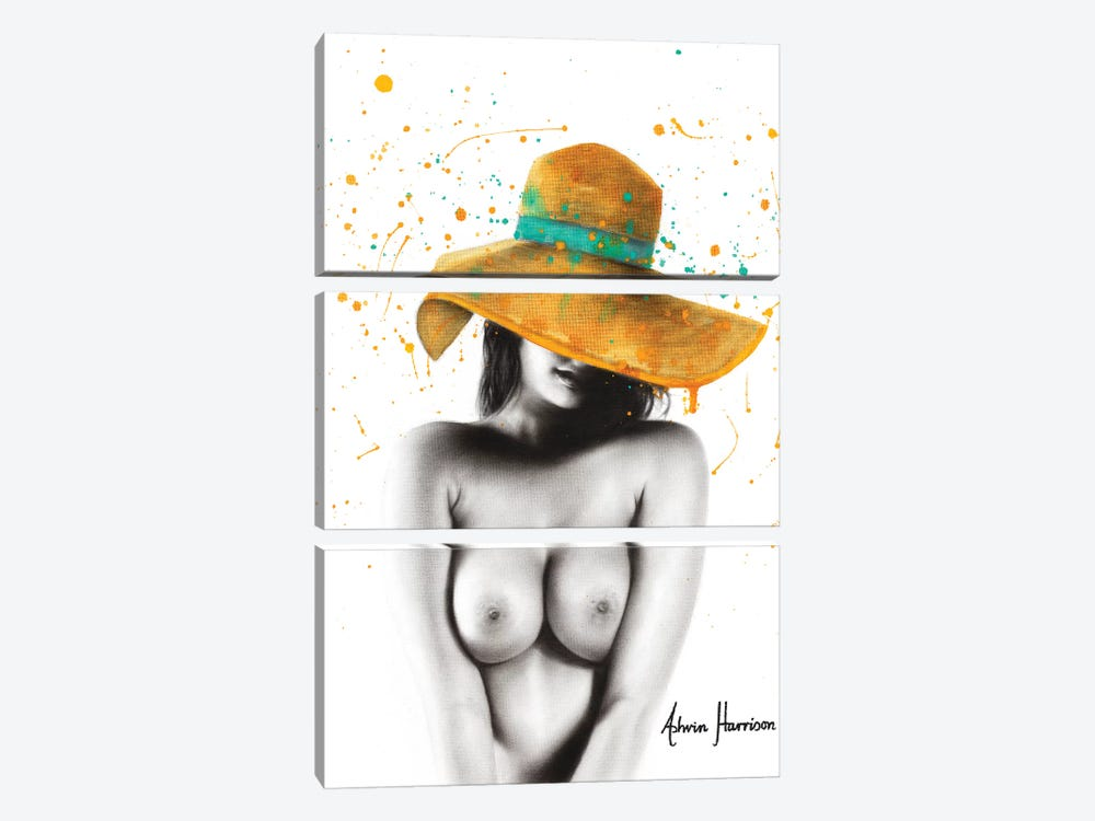 Her Italian Summer by Ashvin Harrison 3-piece Canvas Art
