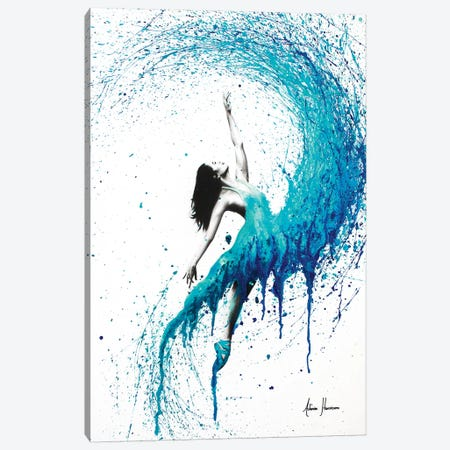 In The Waves Canvas Print #VIN44} by Ashvin Harrison Canvas Wall Art