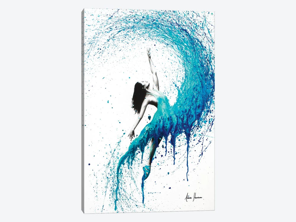 In The Waves by Ashvin Harrison 1-piece Art Print