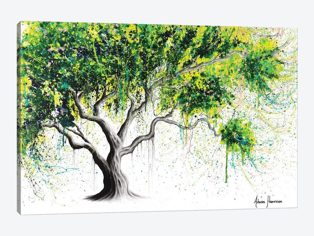 Funky Fig Tree by Ashvin Harrison 1-piece Canvas Art