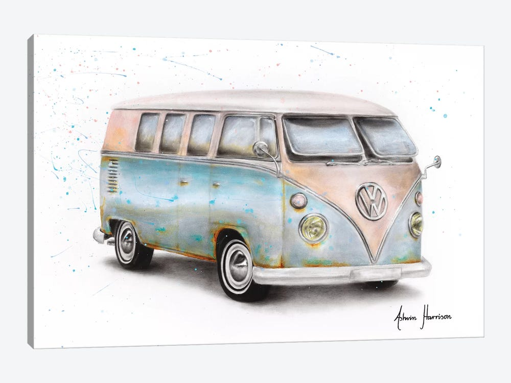 A Journey In Time by Ashvin Harrison 1-piece Art Print