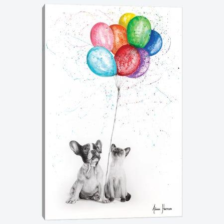 The Eight Balloons Canvas Print #VIN454} by Ashvin Harrison Canvas Print