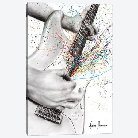 The Guitar Solo Canvas Print #VIN456} by Ashvin Harrison Canvas Art Print