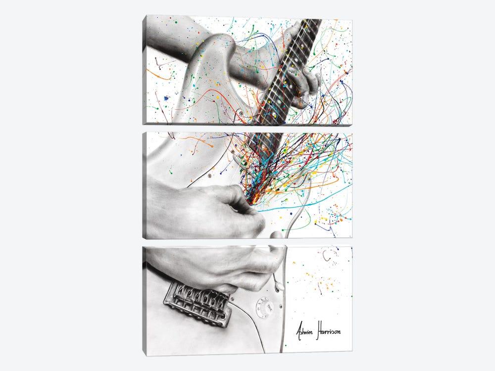 The Guitar Solo by Ashvin Harrison 3-piece Canvas Art