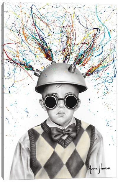 The Ideas Boy Canvas Art Print