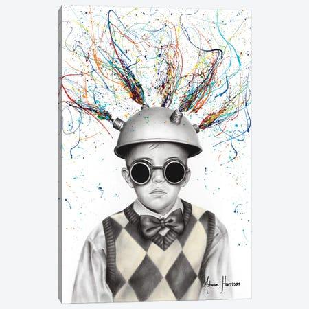 The Ideas Boy Canvas Print #VIN457} by Ashvin Harrison Canvas Art Print