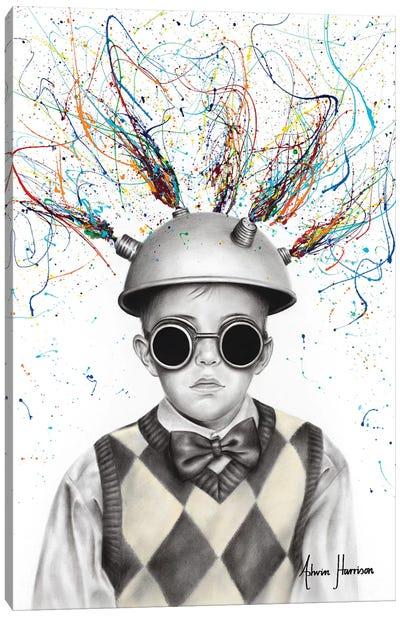 The Ideas Boy Canvas Art Print