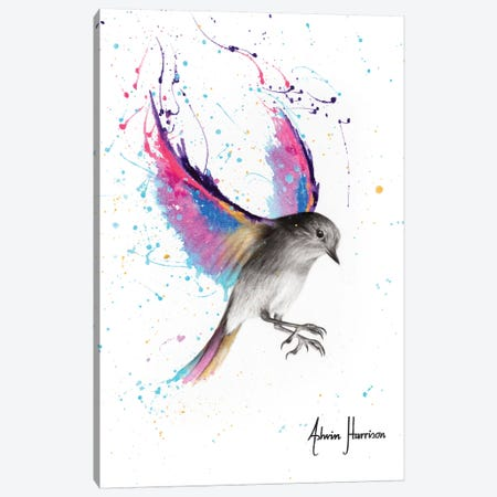 September Sunset Bird Canvas Print #VIN458} by Ashvin Harrison Canvas Artwork