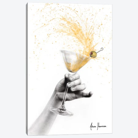 Shaken Martini Canvas Print #VIN463} by Ashvin Harrison Canvas Art Print