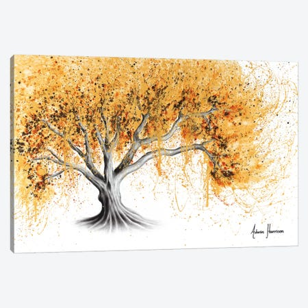 The Golden Tree Canvas Print #VIN464} by Ashvin Harrison Canvas Art