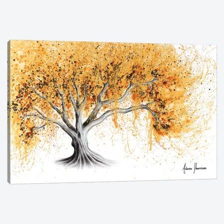 The Golden Tree Canvas Print #VIN464} by Ashvin Harrison Canvas Art